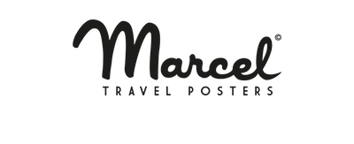 marque Marcel travel poster à Guidel